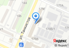 Компания «Отдел судебных приставов по Тракторозаводскому району г. Челябинска» на карте