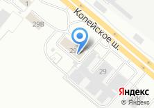 Компания «Volvo» на карте