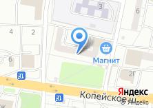 Компания «Золотой локон» на карте
