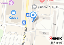Компания «Лавка рукоделия» на карте