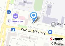 Компания «Салон сувениров и подарков на проспекте Ильича» на карте