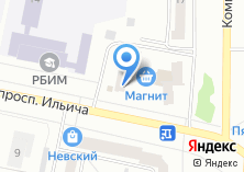 Компания «Милан» на карте