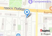 Компания «Строящийся жилой дом по ул. Коммунистический проспект (г. Копейск)» на карте