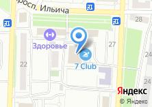 Компания «7club» на карте