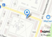 Компания «Теремок» на карте