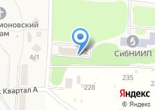 Компания «Почтовое отделение №555» на карте