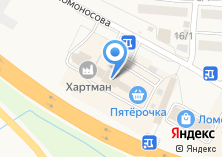 Компания «АВТОСТОЯНКА АВИАТОР» на карте