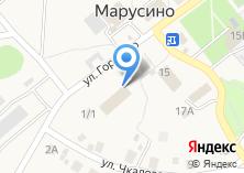 Компания «Почтовое отделение с. Марусино» на карте
