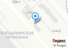Компания «Рабус» на карте