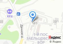 Компания «Заельцовский Бор Жилой 1-й пос ( Новосибирск (Новосибирская область)» на карте