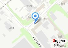 Компания «Росавтохим» на карте