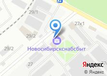 Компания «БИВА» на карте