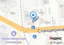 Компания «Автодин» на карте