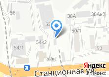 Компания «Howo-Foton-Зил» на карте