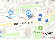 Компания «Автомойка на Волховской» на карте