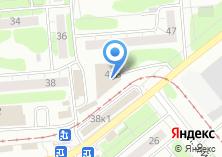 Компания «Кега» на карте
