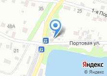 Компания «Продуктовый магазин на Портовой» на карте