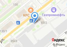 Компания «Новосибирский автотранспортный комбинат» на карте
