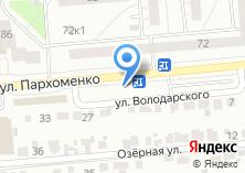 Компания «Автомаркет154» на карте