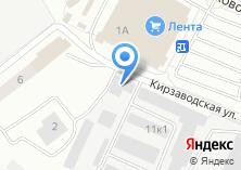 Компания «Кирзаводской» на карте
