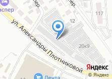 Компания «Overdrive» на карте
