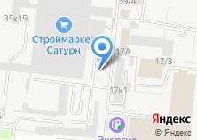Компания «ЕвразМеталл Сибирь» на карте