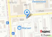 Компания «ПРОЕКТ.COM» на карте