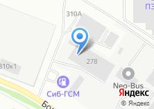 Компания «Янжин» на карте