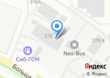 Компания «СИБСТРОЙТОРГ» на карте