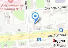 Компания «УютОптМебель» на карте
