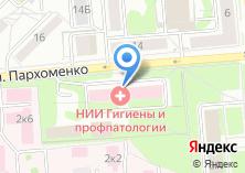 Компания «Новосибирский НИИ гигиены» на карте