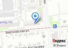 Компания «Мастерская перетяжки мебели на Вертковской» на карте