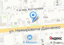 Компания «Евромойка54» на карте