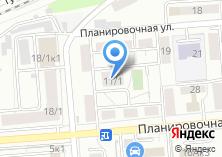 Компания «Омега Трейд» на карте