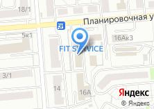 Компания «АвтоПартс» на карте