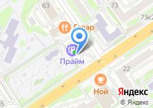 Компания «АЗС СИНТЕЗ» на карте