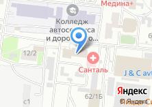Компания «Универсал-Сибирь» на карте