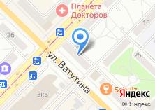 Компания «Сибаск» на карте