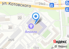 Компания «Пятиминутка» на карте