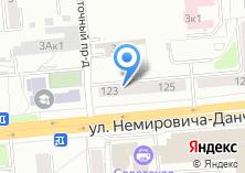 Компания «Наладка Сибэлектромонтаж» на карте