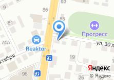 Компания «Мойking» на карте
