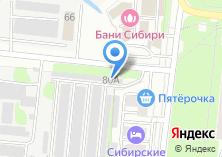 Компания «Полный привод» на карте