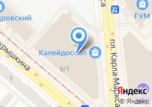 Компания «Ролатекс сеть салонов жалюзи» на карте