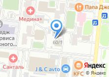 Компания «АДТ» на карте