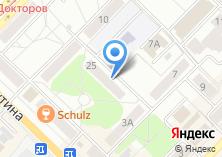 Компания «Стронг» на карте