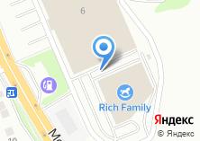 Компания «*адванс*» на карте
