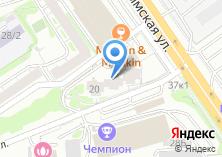 Компания «Медсталь-Сибирь» на карте
