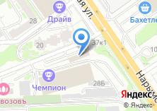 Компания «Абетон-НСК» на карте