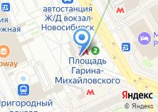 Компания «На Гарина-Михайловского» на карте