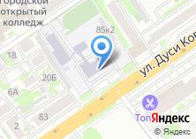 Компания «Сибирская сервис-служба» на карте